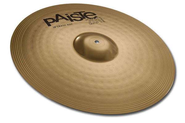 "Paiste 201 18"" Bronze Crash Ride Cymbal Drum Set Extra Add-on"