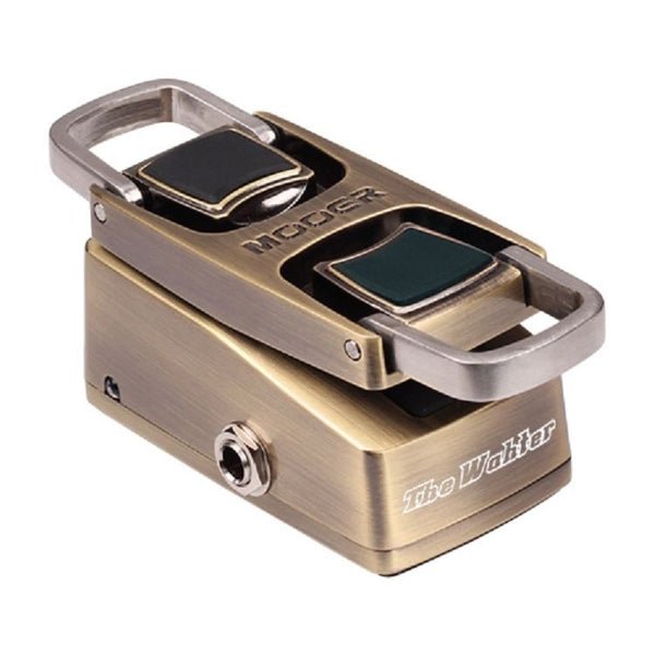 New! Compact Mooer The Wahter Classic Mini Wah Touch Sensor or Classic Toe Down