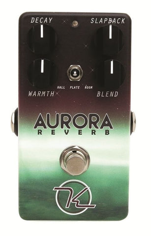 New! Keeley AURORA DIGITAL REVERB Slapback Pre-delay - Selectable Modes US Made