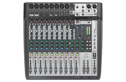 New! Soundcraft - Signature 12 Channel Mixer USB Recording - Lexicon Effects DBX