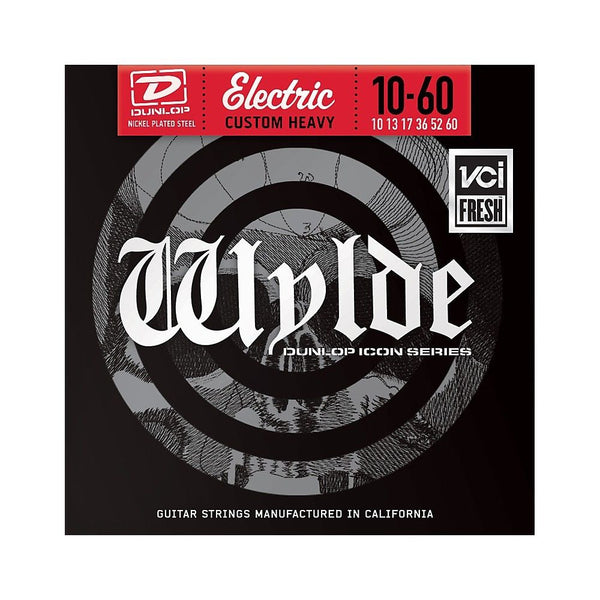 Dunlop Icon Series Zakk Wylde Electric Guitar Strings Custom Heavy 10 - 60