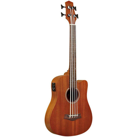 Gold Tone GT-Series M-Bass/FL 4-String Acoustic MicroBass Fretless Electric Bass