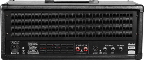 New! Randall RG1003H 100 watt 3 Channel Guitar Amp Head w/ 2 Button Footswitch