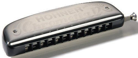 Hohner 255 Chrometta 12 Harmonica, Key Of G Major