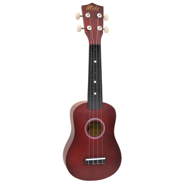 HILO UKE TRANSPARENT RED