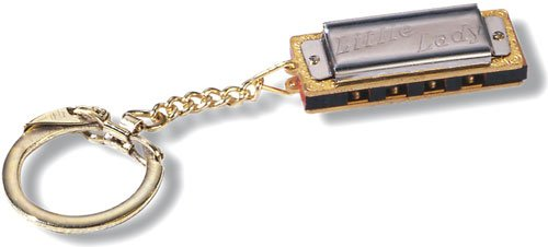 Hohner Little Lady Harmonica Keychain