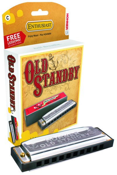 HOHNER OLD STANBY HARP  BP  A