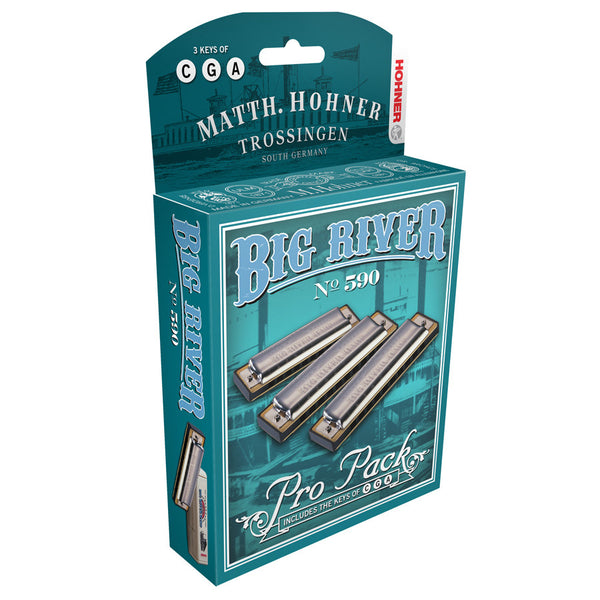 BIG RIVER PRO PACK  KEYS OF C G A