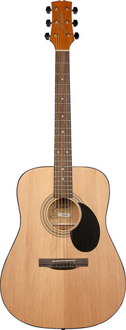 Jasmine S35 Natural Acoustic Guitar with Learn to Play Guitar DVD