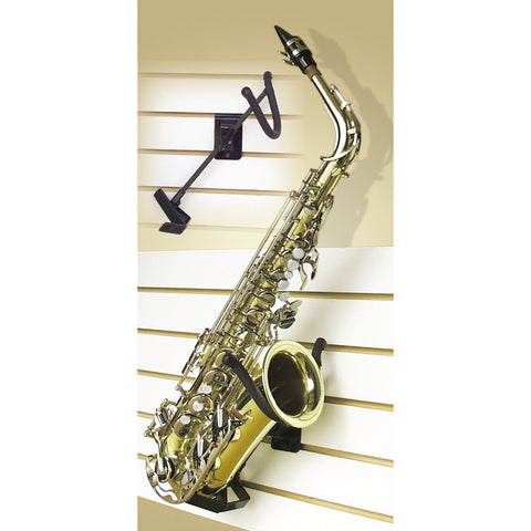 String Swing Alto / Tenor Sax Holder  Flatwall