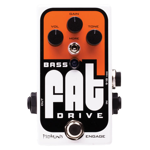 BASS FAT OVERDRIVE PEDAL