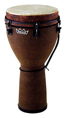 "Djembe  12"" Key Tuned  Fabric Earth"