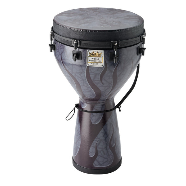 "DJEMBE 25""X14"" FLAME FINISH"