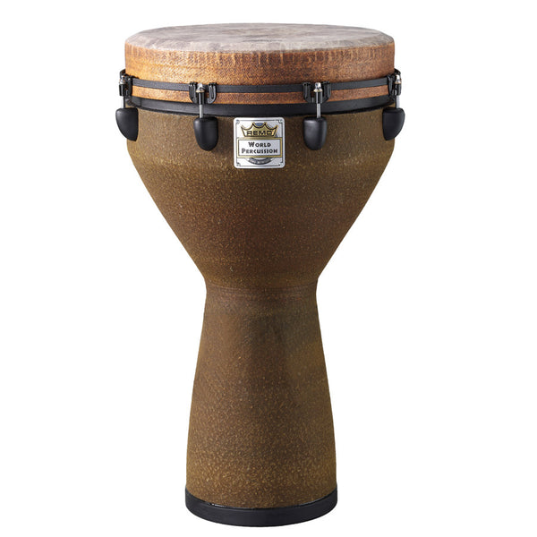 "Djembe  16"" Key Tuned  Fabric Earth"