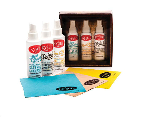 (ea)KYSER GUITAR CARE KIT