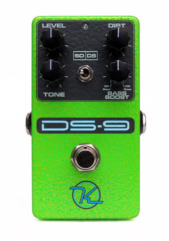 Keeley DS-9 Dual Distortion   Dual-Mode DS9/SD-1 Distortions
