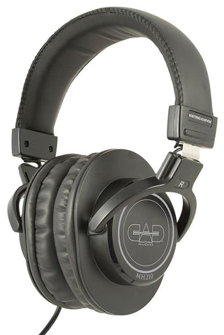 (EA) Headphones Studio Black  40mm Drivers