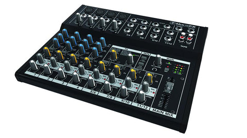 12-channel Compact Mixer w/ FXAnalog Mixers