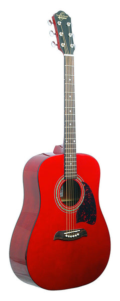 Dreadnought Acous             Trans Red
