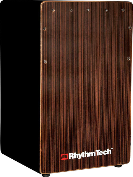 Rhythm Tech Cajon Ebony Front Plate & Bass Port