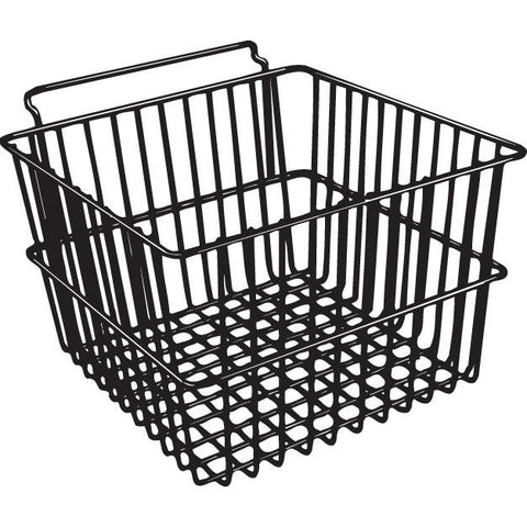(ea)BASKET 12X12X8 SLANT BLACK