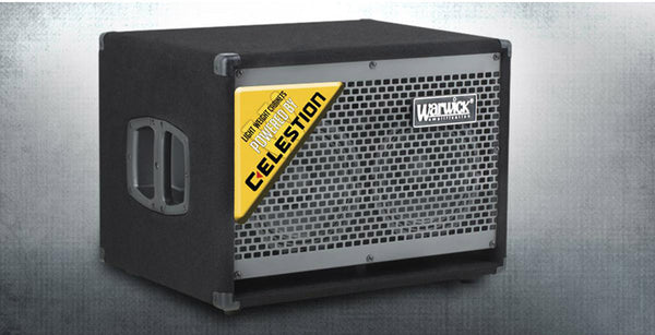WCA 208 LW Celestion Bass Cab 2X8 300 Watts