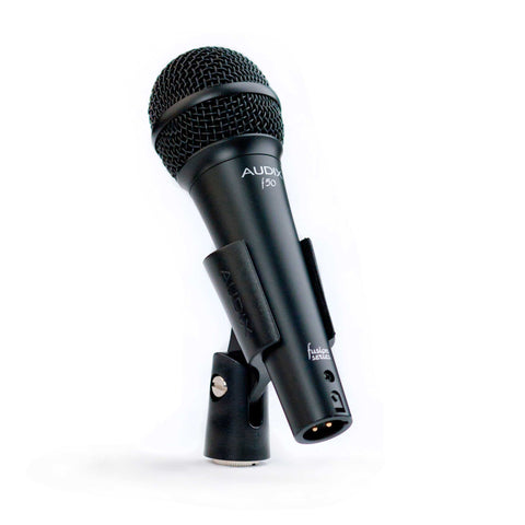 Audix f50 Dynamic Cardioid Vocal Microphone Live & Studio Mic