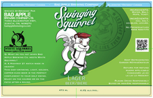 Load image into Gallery viewer, Swing Squirrel Lager label