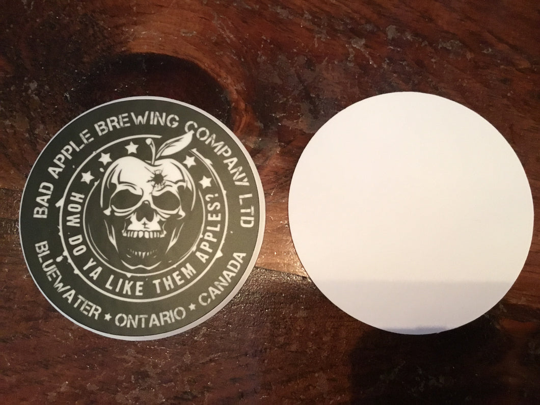 Bad Apple Brewing Coaster