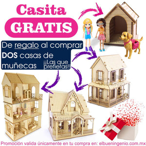 Polly Pocket casa de 2 pisos