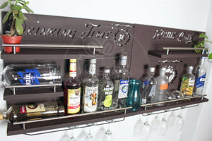 Cantina Led Bar Iluminacion Multicolor Kit Dos Piezas Iluminadas