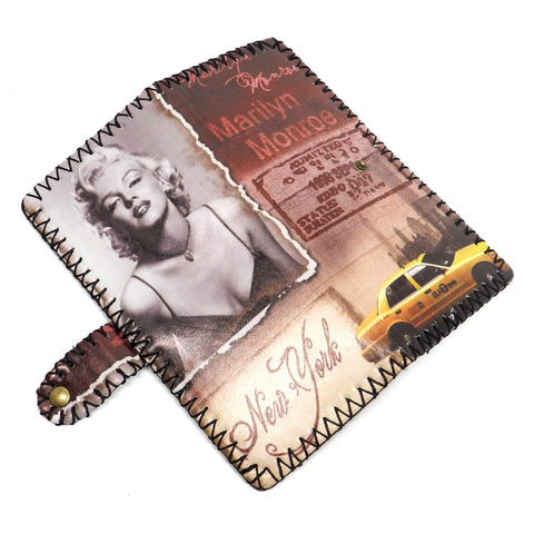 Monroe-Marilyn Monroe New York Taxi Bi-fold Wallet
