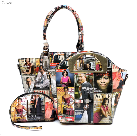 Michelle Obama Color 3-in 1 Tote Bag