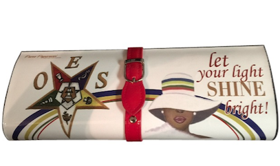 Star-Custom White and red clutch for Eastern Stars