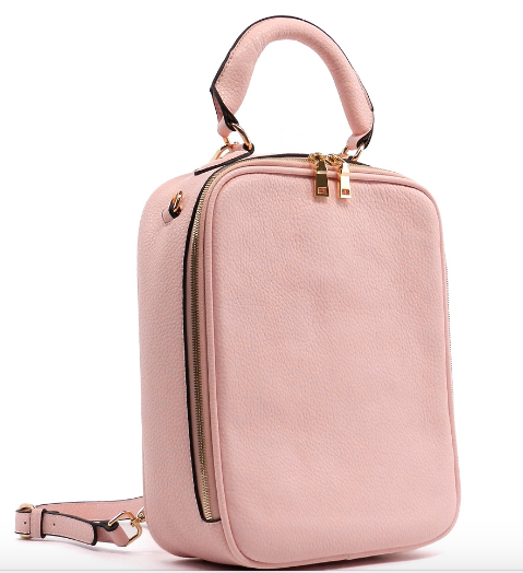 Toya (Light pink back pack)