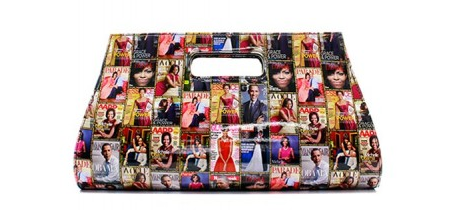 Michelle Obama Colorful Oversized Clutch Purse