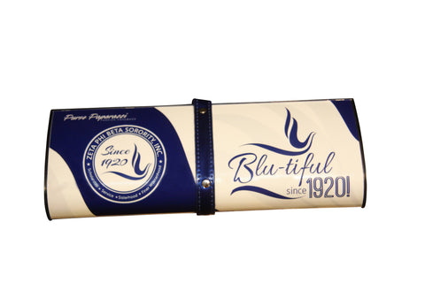 Blu: Custom Clutch for Zeta Phi Beta Sorority Inc