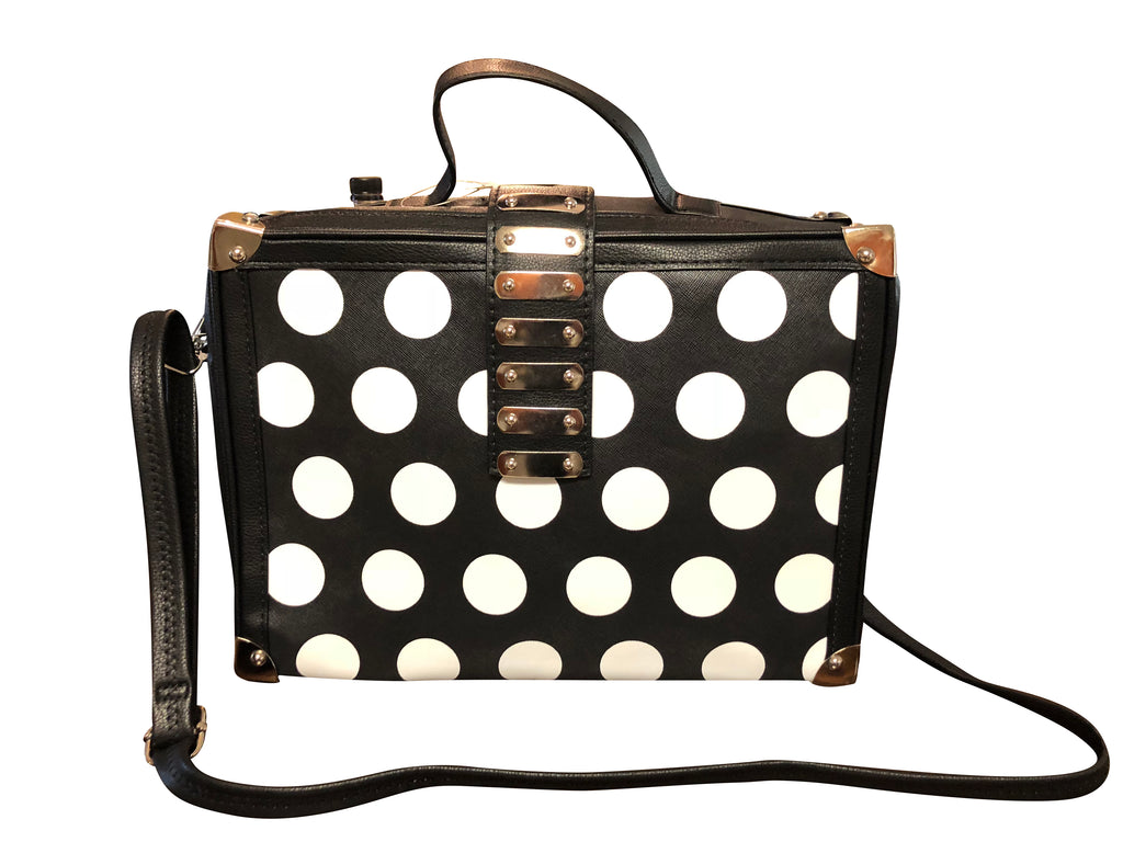 Felicia (Black and White Stylish Business Bag)