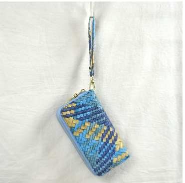 Blue and Gold Wallet