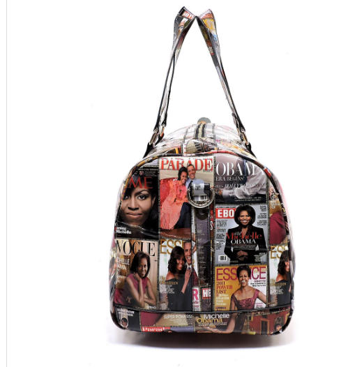 Color Michelle Obama Duffle/Overnight/Gym Bag