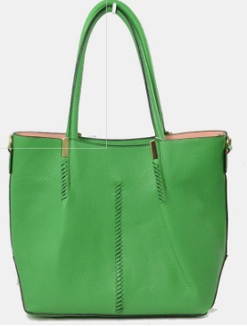 Tara- Green Tote Bag