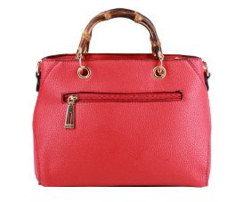 Melinda (Mini red tote bag)