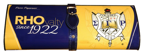 RHOyalty: Custom Clutch for Sigma Gamma Rho Sorority Inc