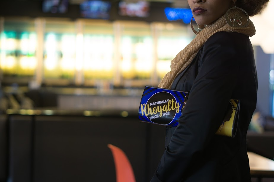 Naturally RHOyalty since 1922 (Blue and Gold Clutch)