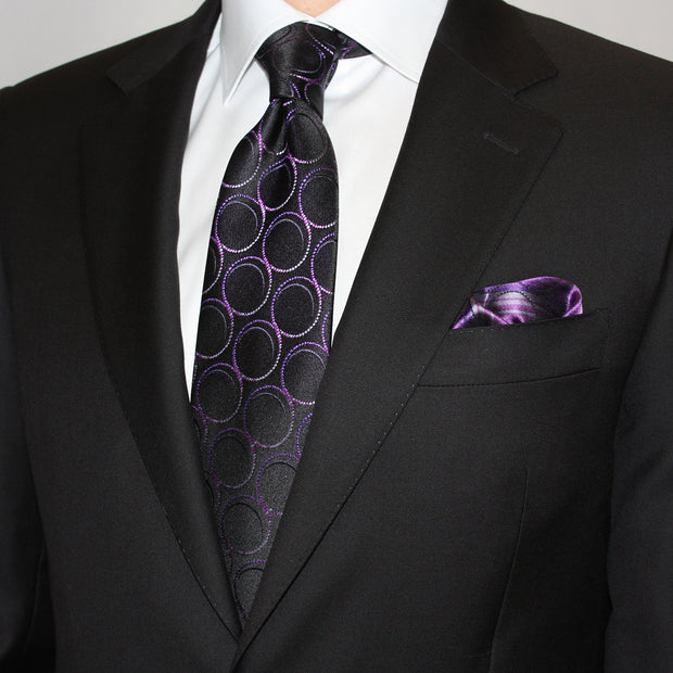 Black Wool Suit