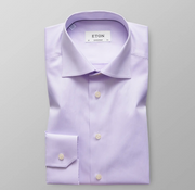 Purple Signature Twill Shirt
