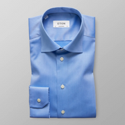 Blue Signature Twill Shirt