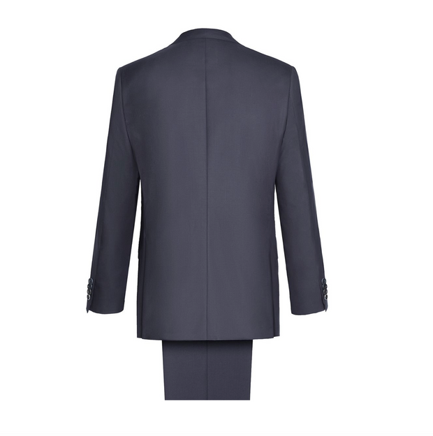 'ESSENTIAL' NAVY BLUE BRUNICO SUIT