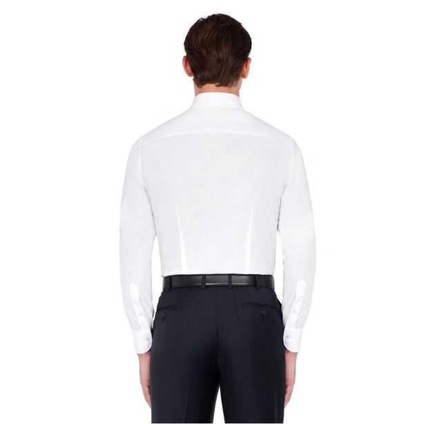 'ESSENTIAL' WHITE FORMAL SHIRT