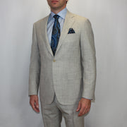 Beige Grey KEI Travel Suit